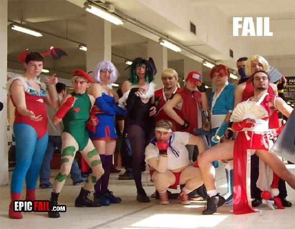Group fail-Worst Cosplay Fails