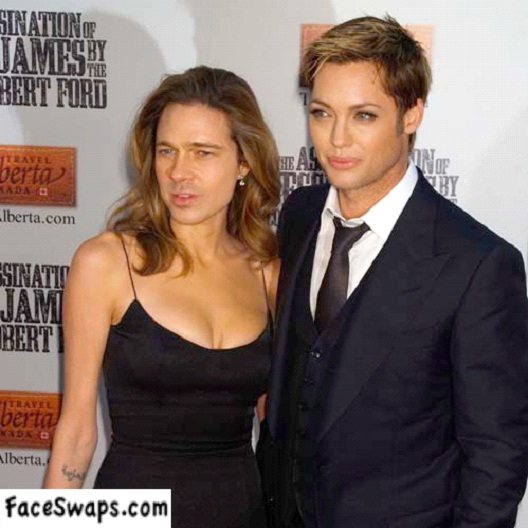 A Different Brangelina-Face Swapping Done Right