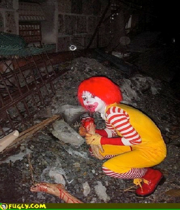 Killer Ronald-Most Inappropriate Ronald McDonalds