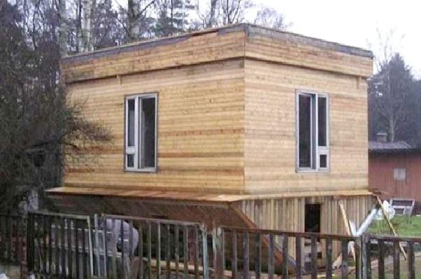 Upside Down House-Worst Construction Fails