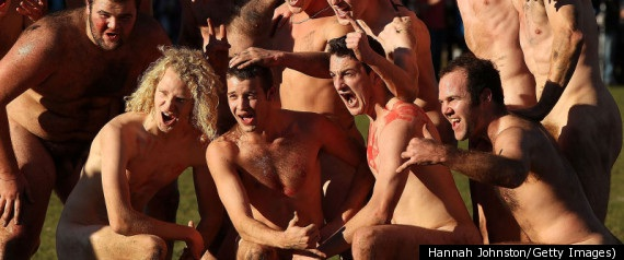 Naked Rugby-12 Bizarre Naked Events Ever