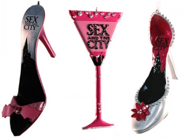 sex and the City Ornaments-Unusual And Funny Christmas Ornaments