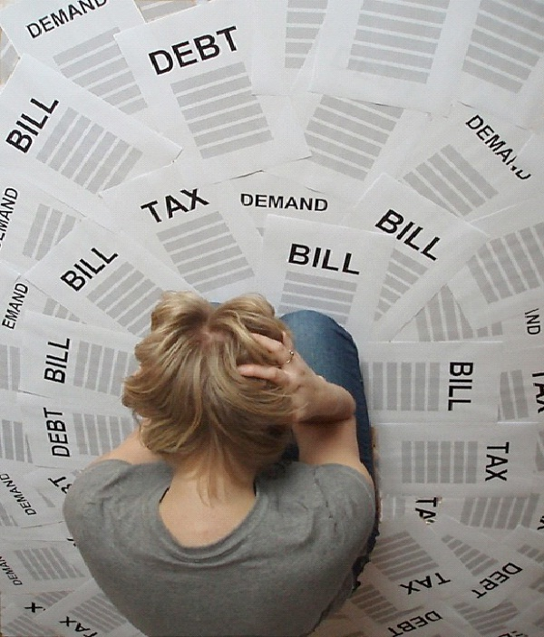 Don't Add More Debt-How To Get Rid Of Debt Tips
