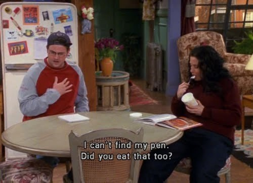 Chandler was just so honest-Why We Loved Friends So Much