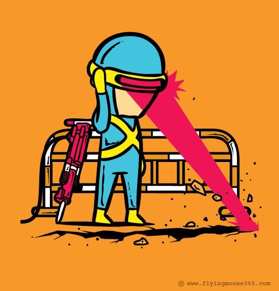 Road digger-If Superheroes Had Part Time Jobs