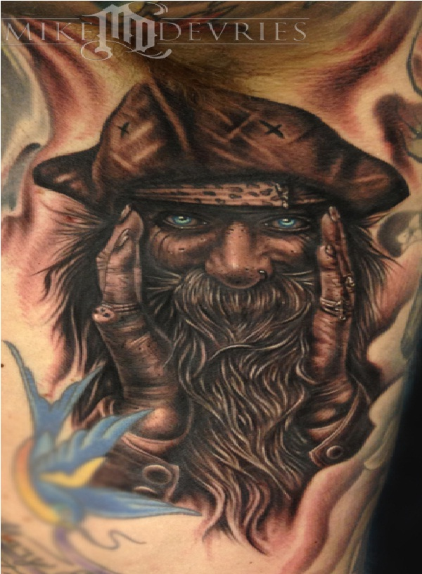 Old seadog-Pirate Tattoos