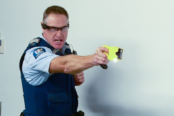 Taser gun test dummy-15 Worst Jobs Ever