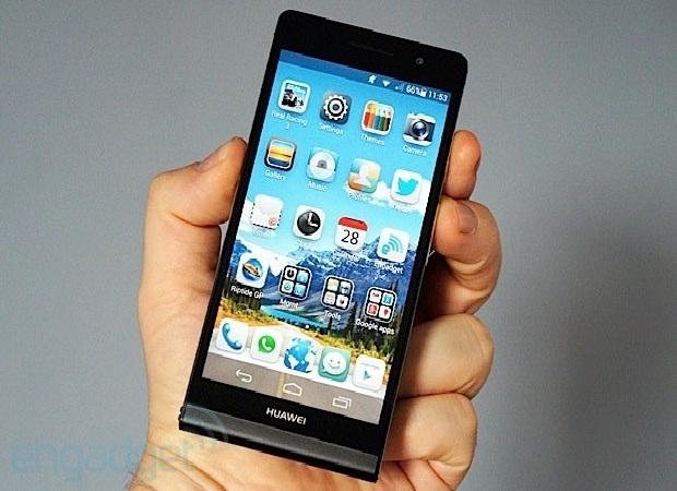 Huawei Ascend P6-Best Smartphones To Buy 2013