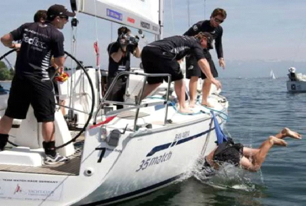 Man Overboard-Unluckiest Moments Caught On Camera