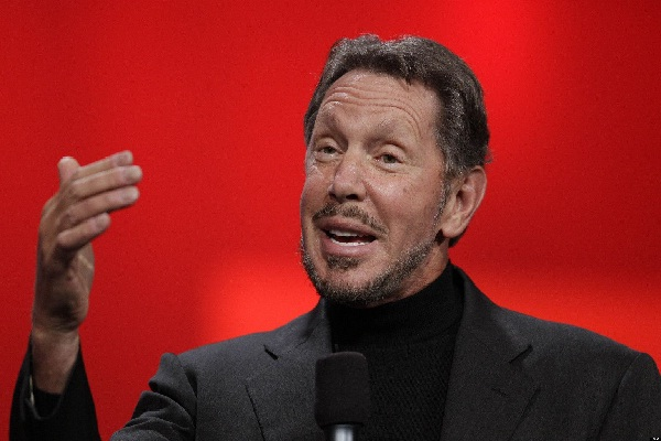 Larry Ellison-Billionaires Who Dropped Out Of College