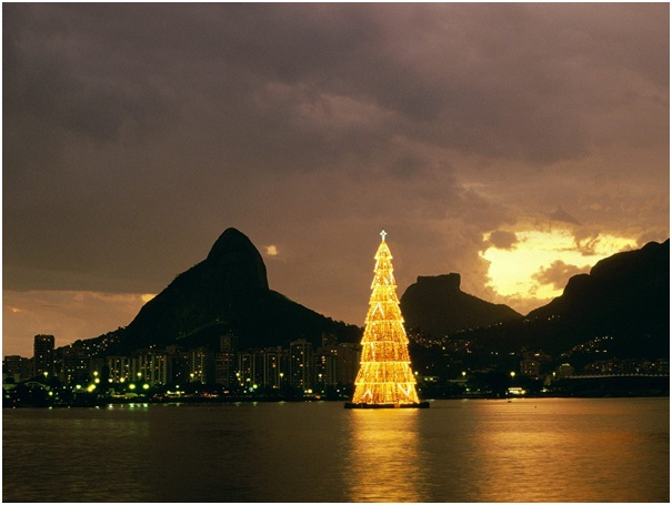 World's Largest Floating Christmas Tree-Most Amazing Christmas Trees From Around The Globe