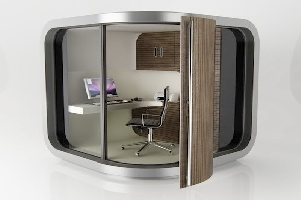 Space Age-Coolest Cubicles And Work Spaces