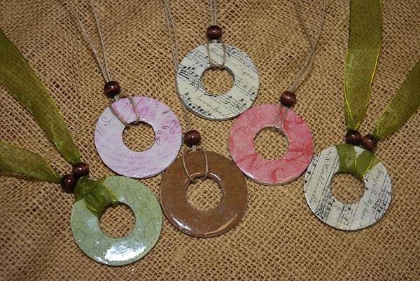 Washer necklace-DIY Jewelry Ideas