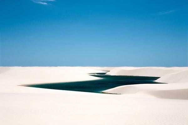 Desert Lake, Brazil-Beautiful Oases Around The World