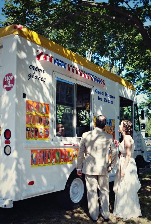Ice cream-Amazing Unique Wedding Ideas
