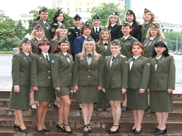 Miss Russian Army-Weirdest Competitions Around The World