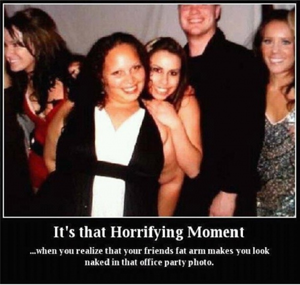 Office Party Tension-15 Pictures That Tell If You Have A Dirty Mind
