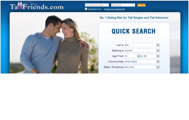 TallFriends.com-Most Bizarre Dating Websites