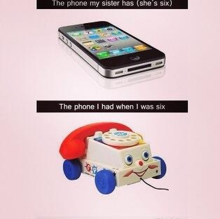 Phones Have Changed-Photos Showing People Of My Generation