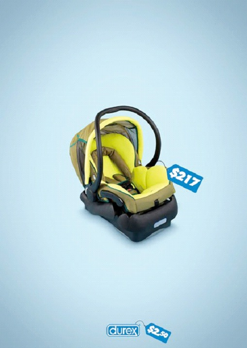 Baby Seat Comparison-Most Creative Durex C0ndom Ads