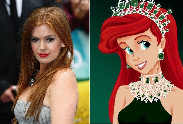Isla Fisher-Disney Look A Like Celebrities