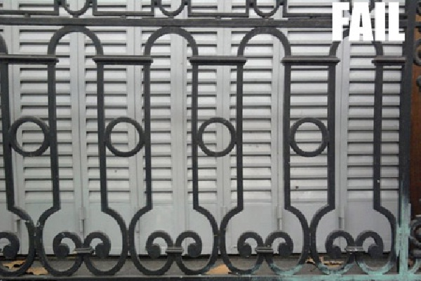 A Sight For Sore Eyes-Hilarious Fence Fails