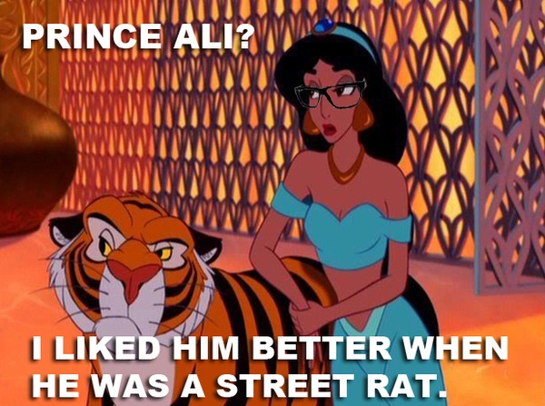What about the tiger?-Disney Characters As Hipsters