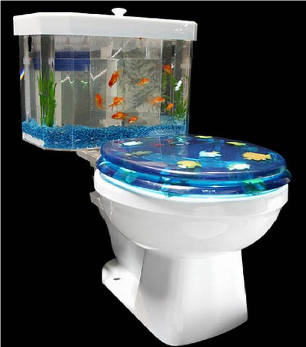 Toilet-Creative Aquariums