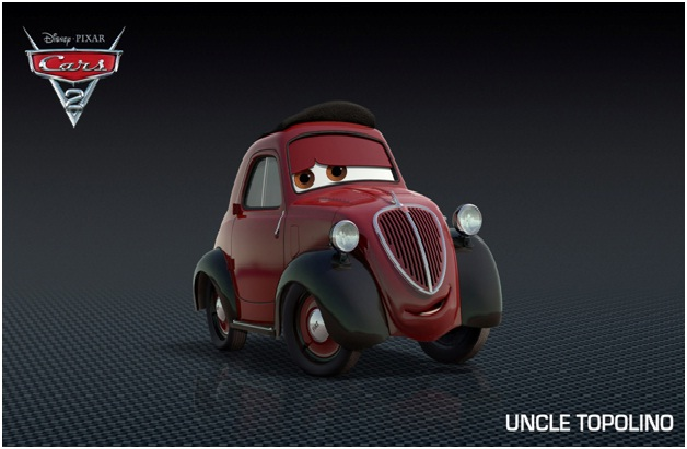 Cars  Friendship Quotes Uncle Topolino