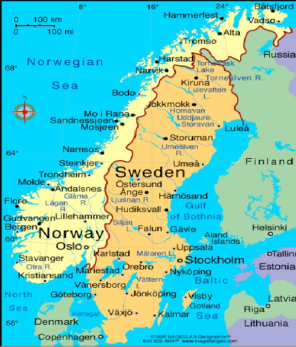 Sweden-Most Developed Countries In The World