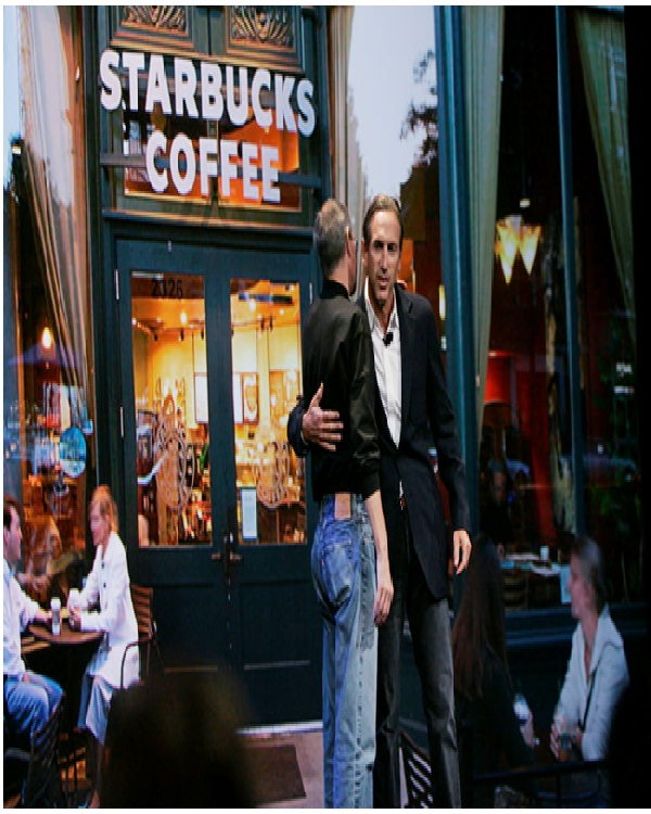 Steve Jobs at Starbucks-Things You Don't Know About The IPhone