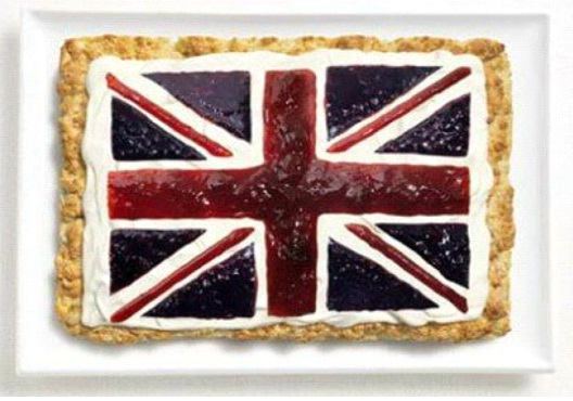 Britain-Most Creative Flags Made Out Of Food