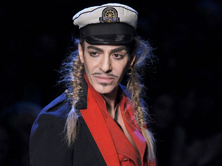 John Galliano-Famous People Who Were Fired For Saying Offensive Things
