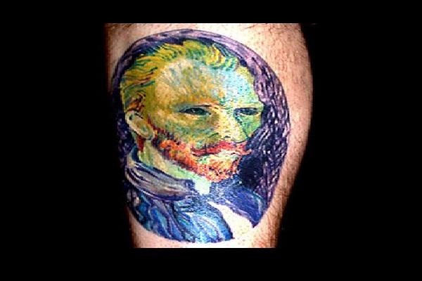 Van Gogh-Amazing Painting Tattoos