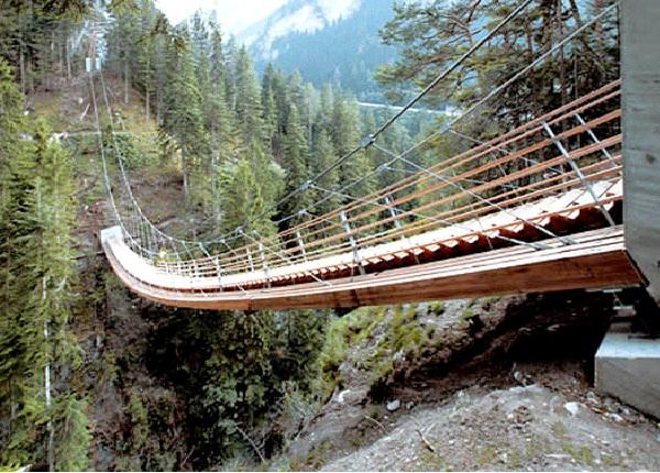 Traversinertobel - Switzerland-Amazing Staircases In The World