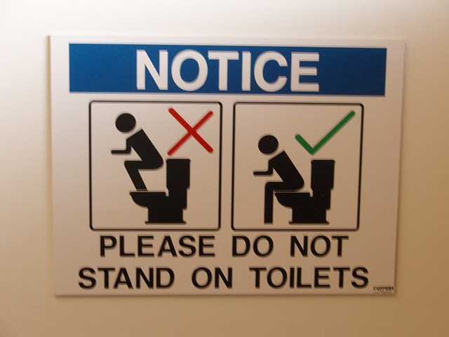Is it required?-Creative And Funny Toilet Signs