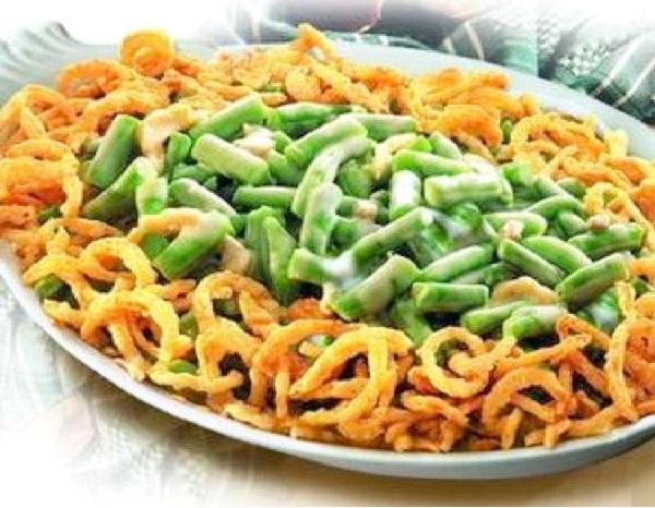 Green Bean Casserole-Christmas Recipes