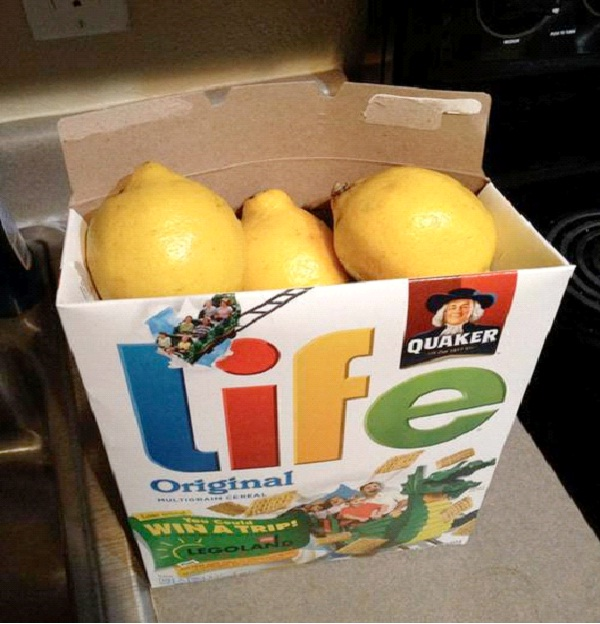 When Life Gives You Lemons-Most Ironic Pictures