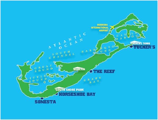 Bermuda-Countries Without McDonald's