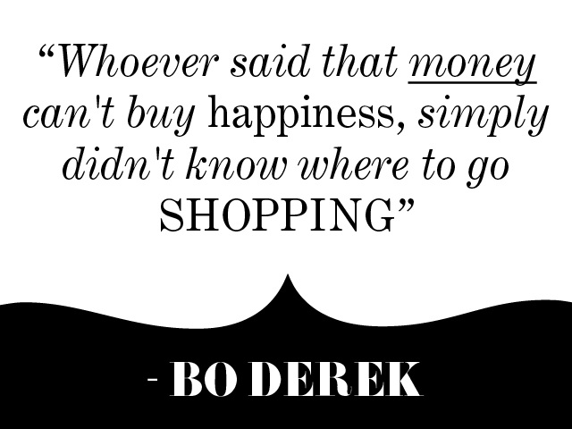 Bo is so correct-Best 'Money Can Buy Happiness' Photos