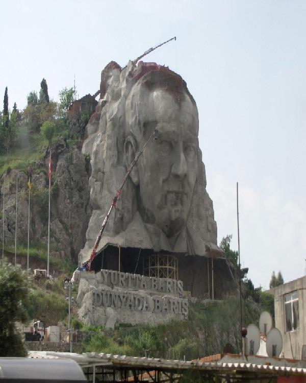 Ataturk-Amazing Mountain Carvings