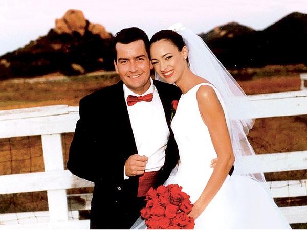 Charlie Sheen-12 Shortest Celebrity Marriages Ever
