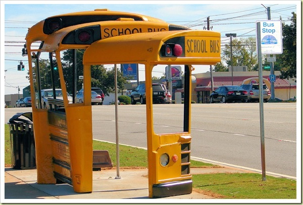 Bus stop..literally-Cool Bus Stops Around The World
