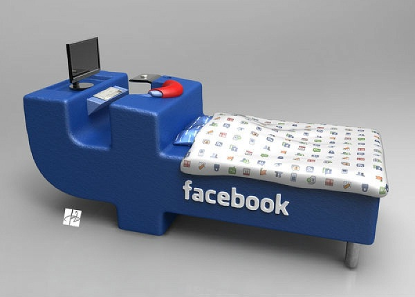 The model bed-Amazing Products Inspired By Facebook