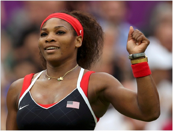 Serena Williams-Celebrities Who Don't Wear Makeup