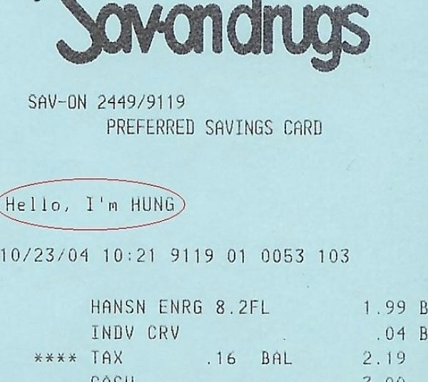 Boastful?-Funniest Receipts Of All Time