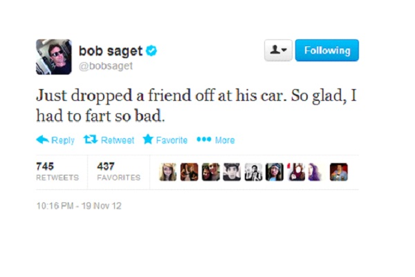 Bob Saget-Funny Celeb Tweets