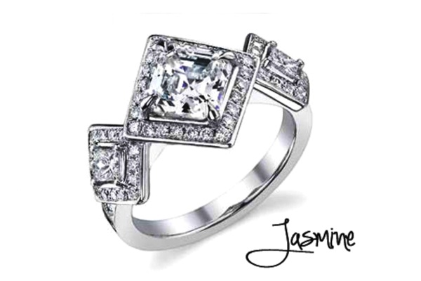 Jasmine Engagement Ring-Disney Engagement Rings