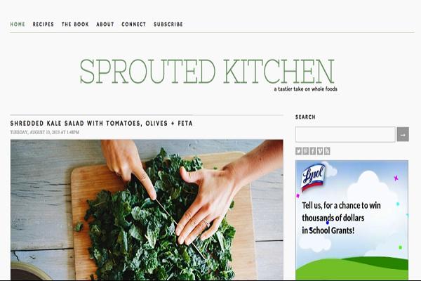 sproutedkitchen.com-Best Recipe Websites
