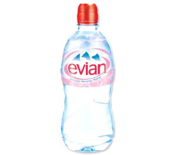 Evian Natural Spring Water-Best Bottled Water To Drink